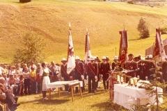 Fahnenweihe - 1976 - Fahnenpatin Anni Eiter