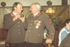 Kommandanten - v.l.n.r.: Lois Eiter und Lois Melmer